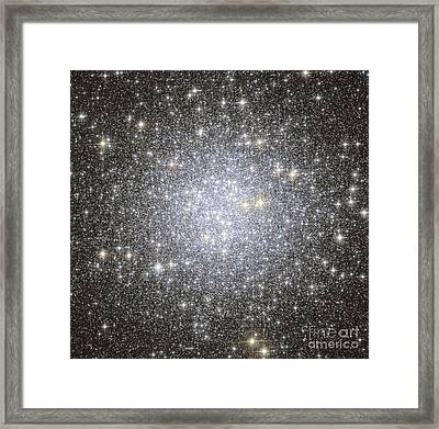 Messier 53, Globular Cluster Framed Print by Roberto Colombari