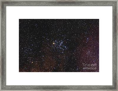 Messier 6, The Butterfly Cluster Framed Print by Alan Dyer