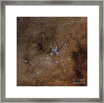 Messier 7, The Ptolemy Cluster Framed Print by Roberto Colombari