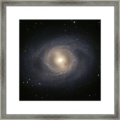 Messier 95 Galaxy Framed Print by European Southern Observatory