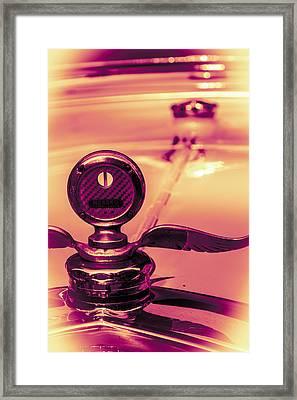 Messko Thermometer Framed Print