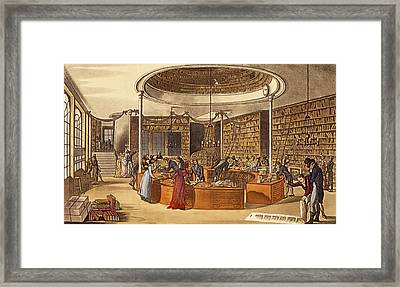 Messrs Lackington Allen And Co., 1809 Framed Print by English School