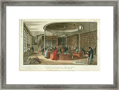 Messrs. Lackington Framed Print by British Library