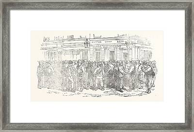 Messrs. Peto Brassey And Betts Office Waterloo Road London Framed Print by English School