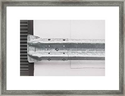 Metal Barrier Framed Print