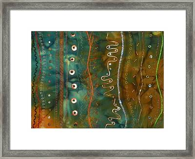Metal Candy Framed Print