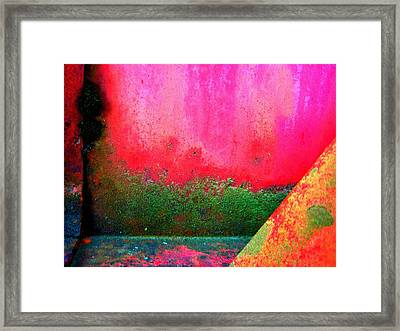Metal Composition Framed Print