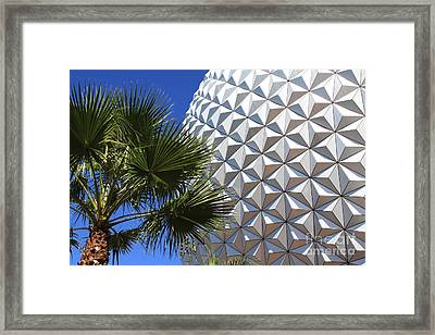 Framed Print featuring the photograph Metal Earth by Chris Thomas