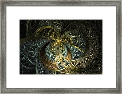 Metal Glass Framed Print