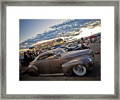 Metal Merc Framed Print by Merrick Imagery