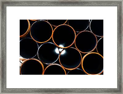 Metal Pipes Framed Print by Fabrizio Troiani