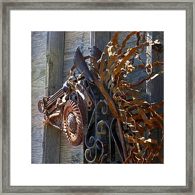 Metal Wildfire Framed Print