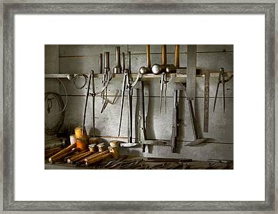 Metal Worker - Tools Of A Tin Smith Framed Print