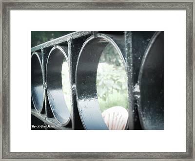 Metalic Boundary. Framed Print by Arijeet Mitra