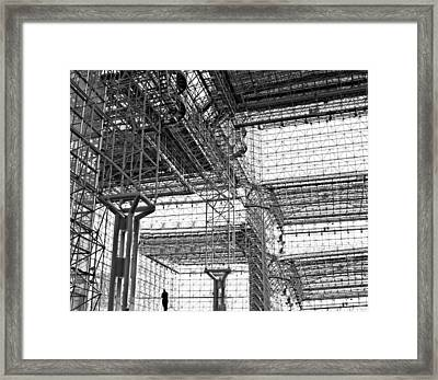 Metalica Framed Print by Diana Angstadt