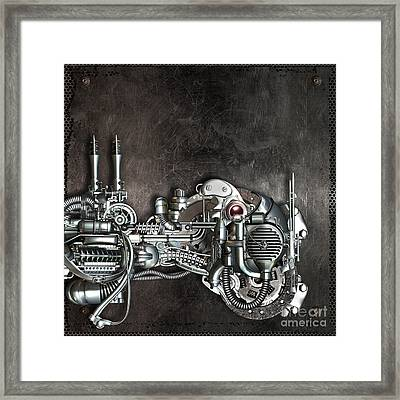 Danger From Above Framed Print by Diuno Ashlee