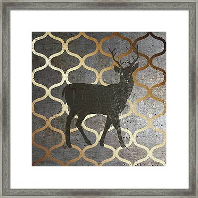 Metallic Nature I Framed Print by Andi Metz
