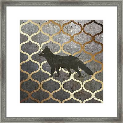 Metallic Nature IIi Framed Print by Andi Metz