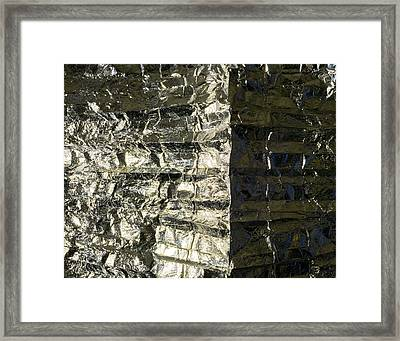 Metallic Reflection Framed Print