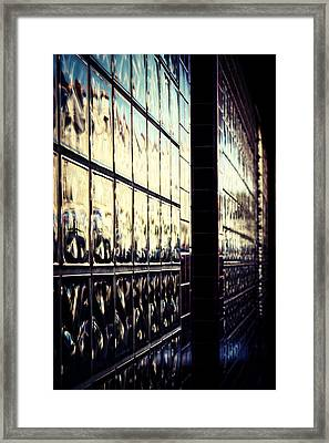 Metallic Reflections Framed Print by Melanie Lankford Photography
