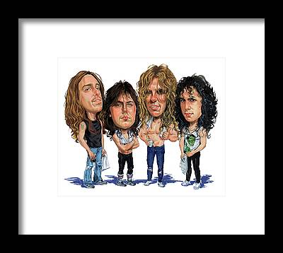 Thrash Metal Framed Prints