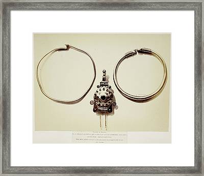 Metalwork Jewellery Framed Print by British Library
