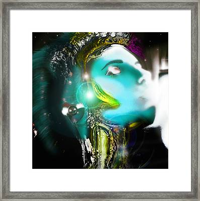 Meta #1 Framed Print