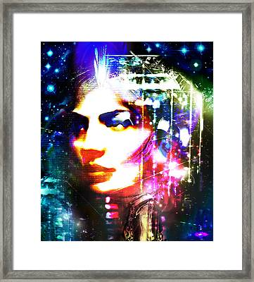 Meta #3 Framed Print