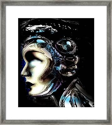 Meta #7 Framed Print