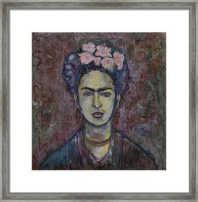 Metamorphosis Frida Framed Print
