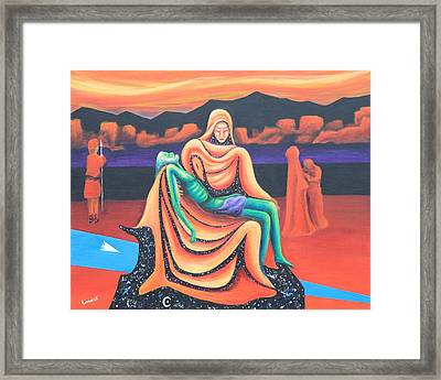 Metaphor Or Every Mother's Son Framed Print