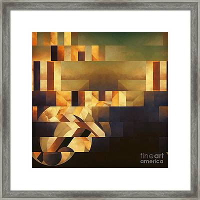 Metaphysical Action Framed Print by Lonnie Christopher