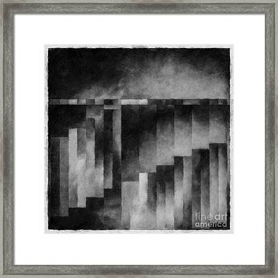 Metaphysical Sketch 3 Framed Print by Lonnie Christopher