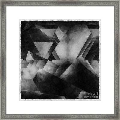 Metaphysical Sketch 4 Framed Print by Lonnie Christopher