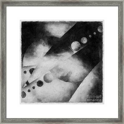 Metaphysical Sketches Framed Print by Lonnie Christopher