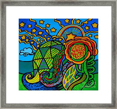 Metaphysical Starpalooza Framed Print by Genevieve Esson