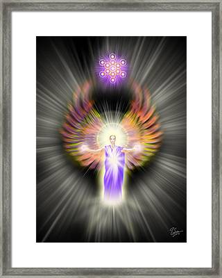 Metatron Framed Print