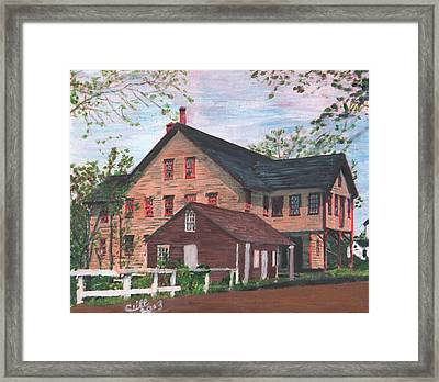Metcalfs Mill Framed Print by Cliff Wilson