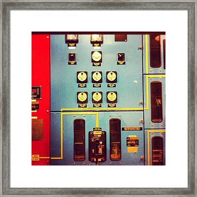 Meter Up Framed Print by Suzanne Goodwin