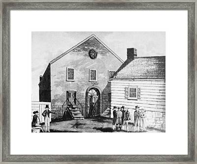 Methodist Church Framed Print