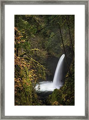 Metlako Falls Framed Print by Brian Bonham