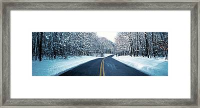Metro Park Road Oh Usa Framed Print by Panoramic Images