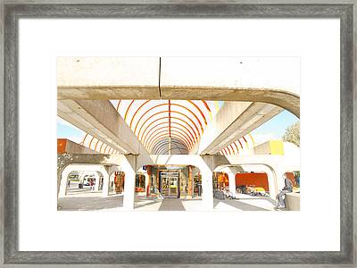 Metro Terminal Framed Print by Eric Soucy