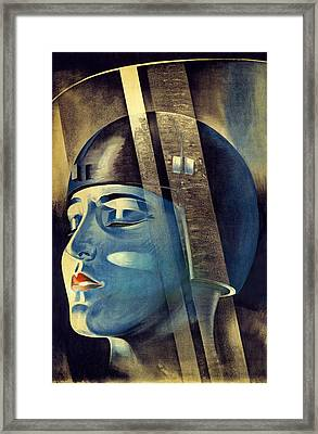 Metropolis (1927) Framed Print by Science Photo Library