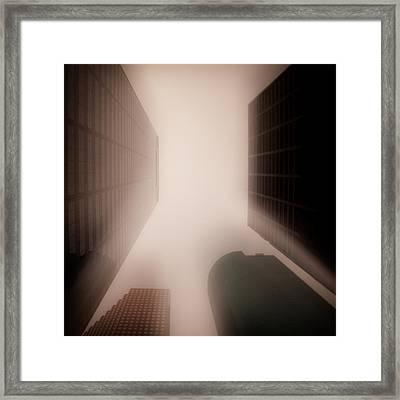 Metropolis Framed Print by Dave Bowman