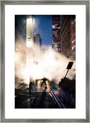 Metropolis Framed Print by Emmanouil Klimis