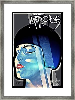 Metropolis Framed Print by Mo T