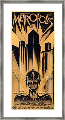 Metropolis Poster Framed Print