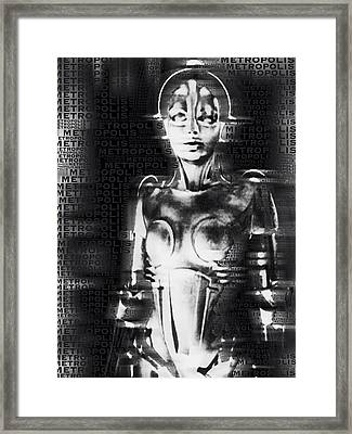 Metropolis The Movie Framed Print by Tony Rubino