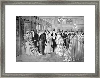 Metropolitan Opera, 1894 Framed Print